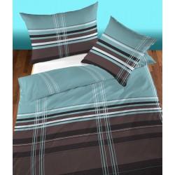 Bettwäsche Satin Agora blau